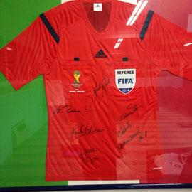 La maglia di Nicola Rizzoli della finale del Campionato del Mondo Brasile  2014