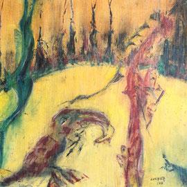 Los Bosques en Verano .:. Oleo sobre tela - 70x50 - 2010