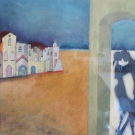 La Morocha de Palermo .:. Oleo sobre tela - 49x38 - 2000