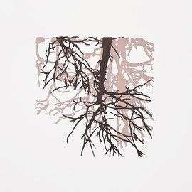 GedankenRäume, verwurzelt, 2021, 10 x 10 cm, Christin_Naumann