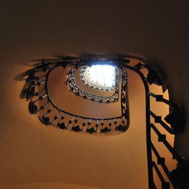 Casa Planells, escala. 2011. Imatge: Raúl Sanz.