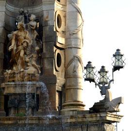Font de la Plaça Espanya. 2018. Imatge: Raúl Sanz.