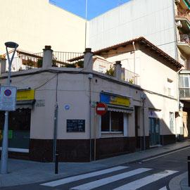 C. Montjuïc 13, cantonada amb C. Bon Viatge. 2018. Fotografia: Raúl Sanz