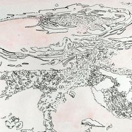 Joana Fischer, 03-10-19  (ground study), 5.5 x 8 inches