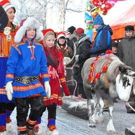 Samische  Trachten