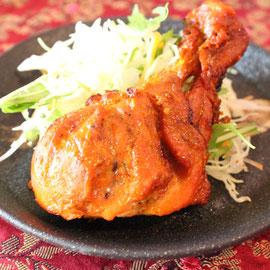 タンドリーチキン(tandooor chicken)