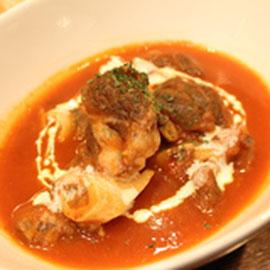 ラムのスパイス煮込み(Lamb spicy cooked)