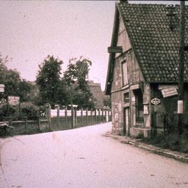 Ortsdurchfahrt in den 1930er