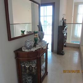 Couloir entre 2 chambres