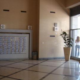 Lobby spacieux