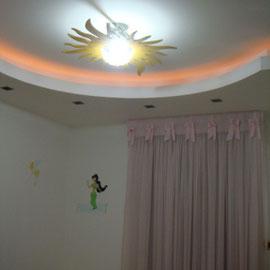 Plafond 4ème chambre