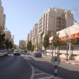 Vers quartier youd alef et plage