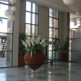 hall d'immeuble luxueux