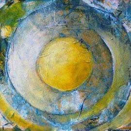 Green golden Light     30 x 40 cm   gerahmt 250,00 €