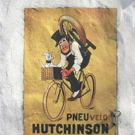 "Fausse Affiche Ancienne ""Hutchinson"""