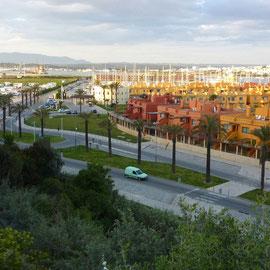 le port et l'aire de CC