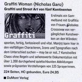 Graffiti Woman review - Frizz Darmstadt