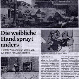 Graffiti Woman review - Tagesanzeiger
