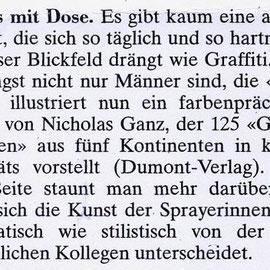 Graffiti Woman review - Neue Zürcher Zeitung