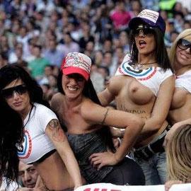 ... bei Real Madrid zu Besuch !