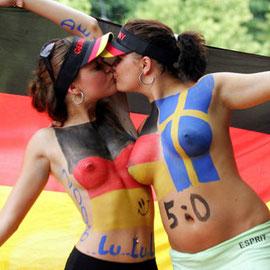 Deutsche Fans mal anders