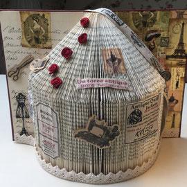 Book Folding Kya's Dressmaker House