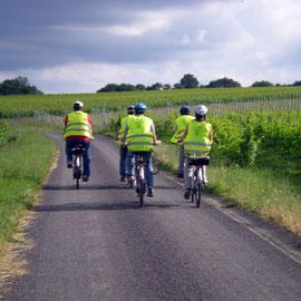 Randonnée en vélo électrique