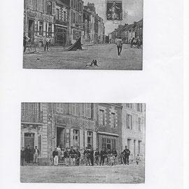 Anciennes cartes postales avec l'ancienne Poste de Savenay