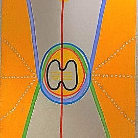 KRAFTZEICHEN FÜR epa, 2006, Acryl auf Leinen