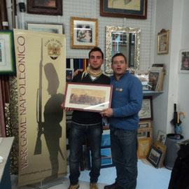 """Il Presidente premia lo """"Scelto"""" del club """"Le Aquile"""" 2011: Gabriele Tabacchini"""