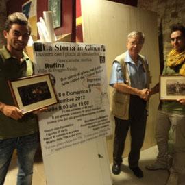 La squadra delle Aquile di Gaeta formata da: Edoardo Plescia e Gabriele Tabacchini che ha vinto il torneo