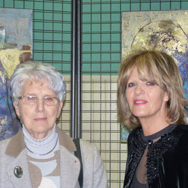 Mme Claudine Roger et Fatema Binet Ouakka