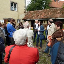 Die Führungen durch das Hauptgebäude, Hof und Scheune waren über den ganzen Tag verteilt immer gut besucht.