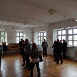 Im Obergeschoss des Amtshauses wurde auch ein Versammlungsraum eingerichtet.
