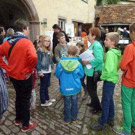 Es standen auch spezielle Führungen für Kinder auf dem Programm.