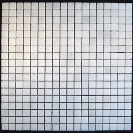 Tapete de Marmol Blanco Royal 1x1, mosaicos de marmol, mosaicos de travertino, marble mosaic, split face tile, split face marble tile, cheap marble tile, marble tile price, tapetes de marmol, tapetes de travertino, mallas de marmol, mallas de travertino