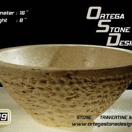 ovalin de travertino 209,, venta de ovalines de marmol, venta de ovalines en mexico, fabricacion de ovalines en mexico, onix sink, marble sink