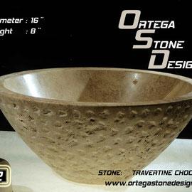 ovalin de travertino 212, venta de ovalines de marmol, venta de ovalines en mexico, fabricacion de ovalines en mexico, onix sink, marble sink