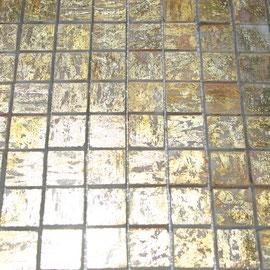 Mosaico de Marmol serie Oro, mosaicos de marmol, mosaicos de travertino, marble mosaic, split face tile, split face marble tile, cheap marble tile, marble tile price, tapetes de marmol, tapetes de travertino, mallas de marmol, mallas de travertino