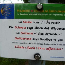 schön wars in der Schweiz