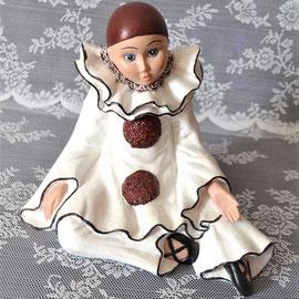 Pierrot aus Keramik