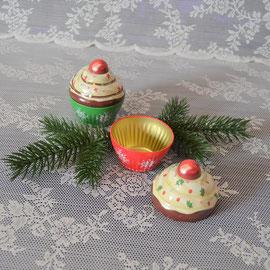 Cupe Cake klein Weihnachten rot