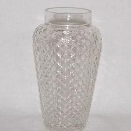 Glasvase geschliffen