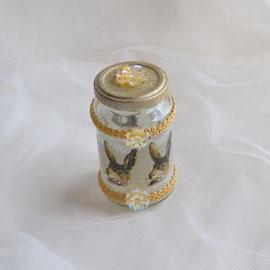 Dekoglas für Ostergeschenke wie Geld, Gutschein oder Süßes