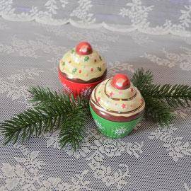 Cupe Cake klein Weihnachten grün
