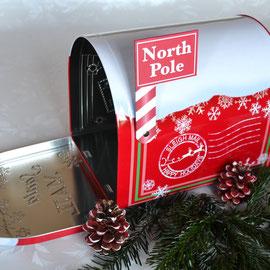 """Weihnachtsdose """"Mailbox"""""""