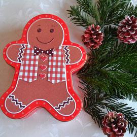 Weihnachtsdose Lebkuchenmann