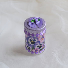 Dekoglas für Ostergeschenke wie Süßes, Geld oder Gutschein.