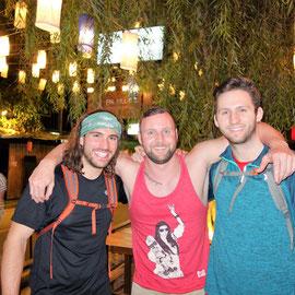 Kurtis, ich und Hunter