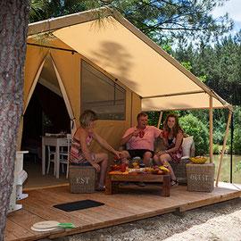 Tent Cotton Lodge Nature